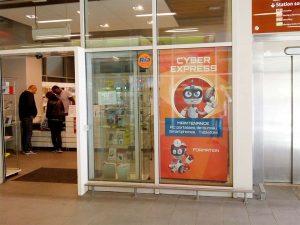Boutique Cyber-systems - Gare de St Quentin en Yvelines